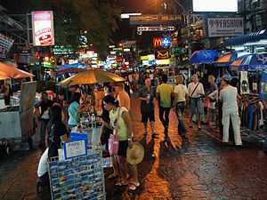 Khao San Road at night by kevinpoh