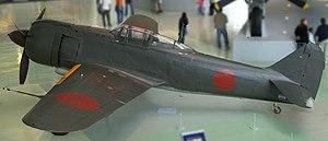 Kawasaki Ki-100 - A Ki-100 in the RAF Museum at Hendon, London