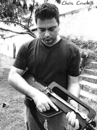 Chris Crudelli - Image: Killing house manilla