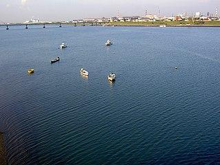 Kinokawa River river in Nara and Wakayama prefectures, Japan