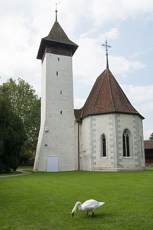 Kirche Scherzligen, Seeseite