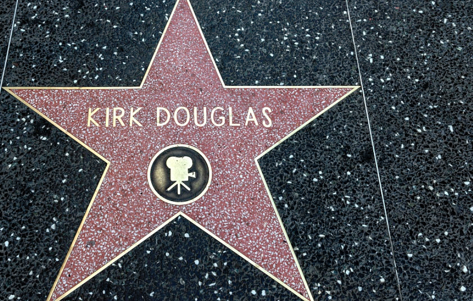 Kirk Douglas Walk of Fame Star