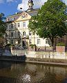 Kirn - Rathaus mit Hahnenbach .JPG