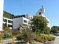 Kloster Ilanz Kirche aussen Sommer.JPG