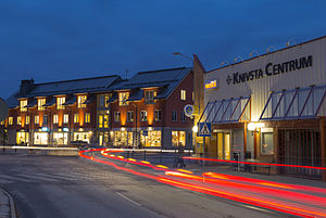 Knivsta - Knivsta City by night