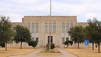Knox County, Texas - Image: Knox County Texas Courthouse 2015