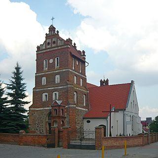Pączewo Village in Pomeranian Voivodeship, Poland