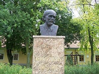 Zoltán Kodály - Bust in Balatonlelle, Hungary