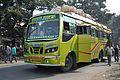 Kolkata-Berhampore Private Bus - WB-19-D-2688 - Phulia - NH-34 - Nadia 2014-11-28 9956.JPG
