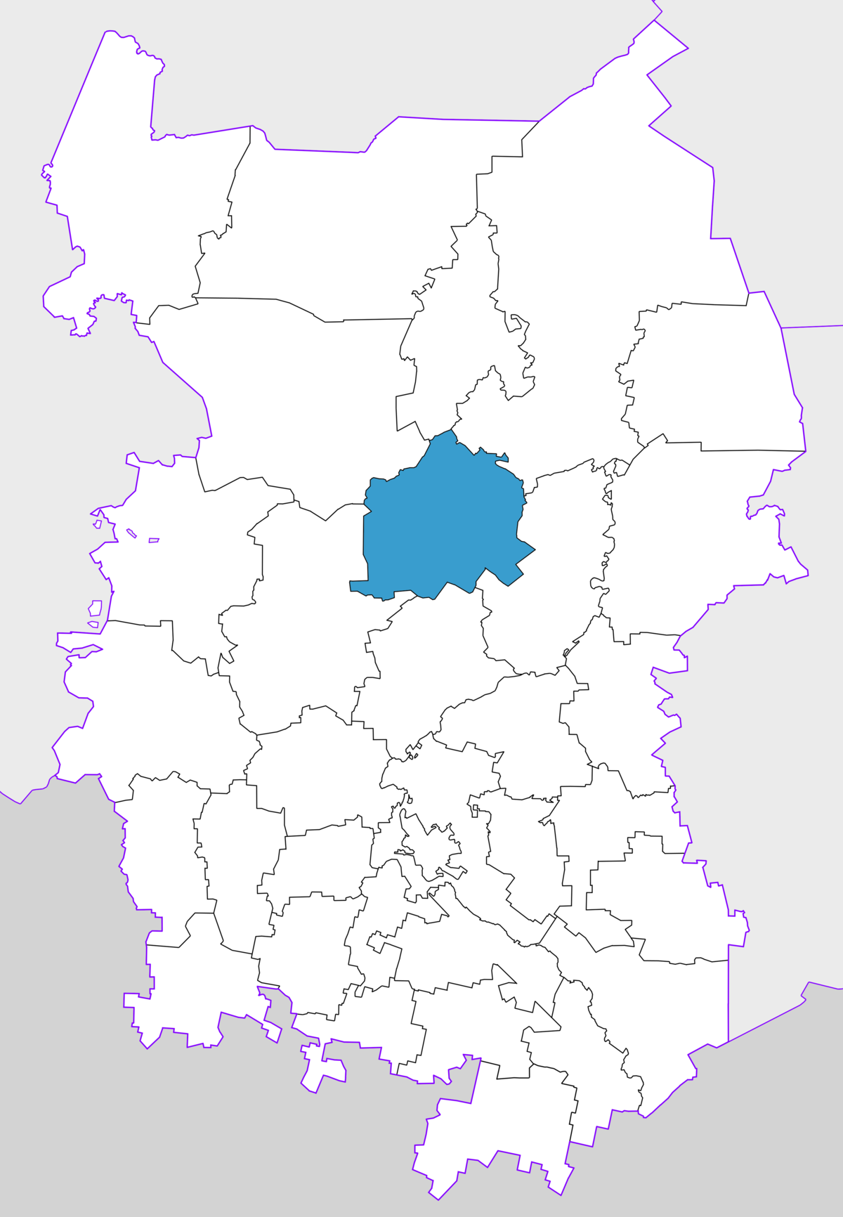 What is the federal district of Omsk, and where is it located 83