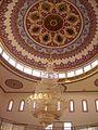 Konstanz Mevlana-Moschee Innen Kuppel 1.JPG