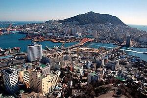 Southeastern Maritime Industrial Region - Image: Korea Busan Busan Tower 01