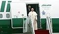 Korea Pope Francis Arrive Seoul Airport 01.jpg