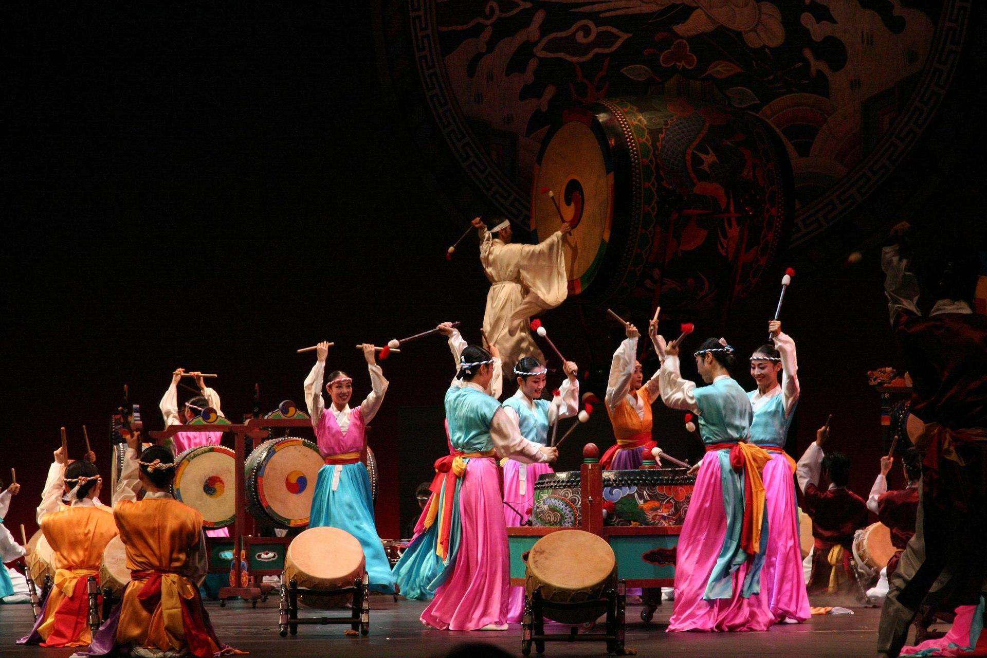 korean dance wikipedia