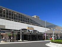 Koshigaya Station East Entrance 20120924.jpg