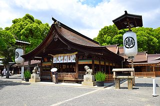 Inazawa City in Chūbu, Japan