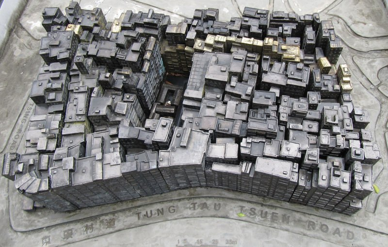 Kowloon Walled City Statue