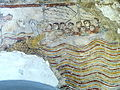 Krems Gozzoburg - Kleine Kapelle Fresko Jonas 3.jpg