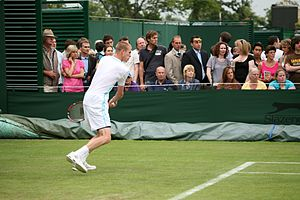 Kristof Vliegen - Image: Kristof Vliegen at the 2009 Wimbledon Championships 01