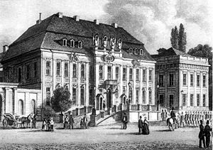 Kronprinzenpalais - Kronprinzenpalais after its first rebuilding