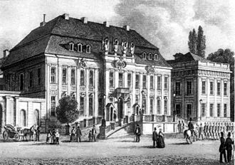 Kronprinzenpalais - Kronprinzenpalais after its first rebuilding