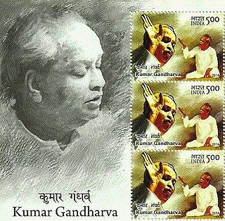 Kumar Gandharva Indian classical singer