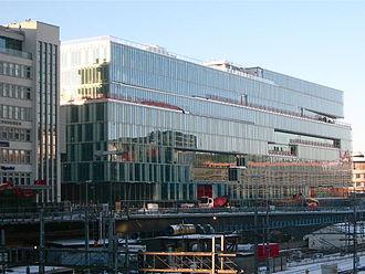 Svenska Dagbladet - Kungsbrohuset: Buildings in the Norrmalm district