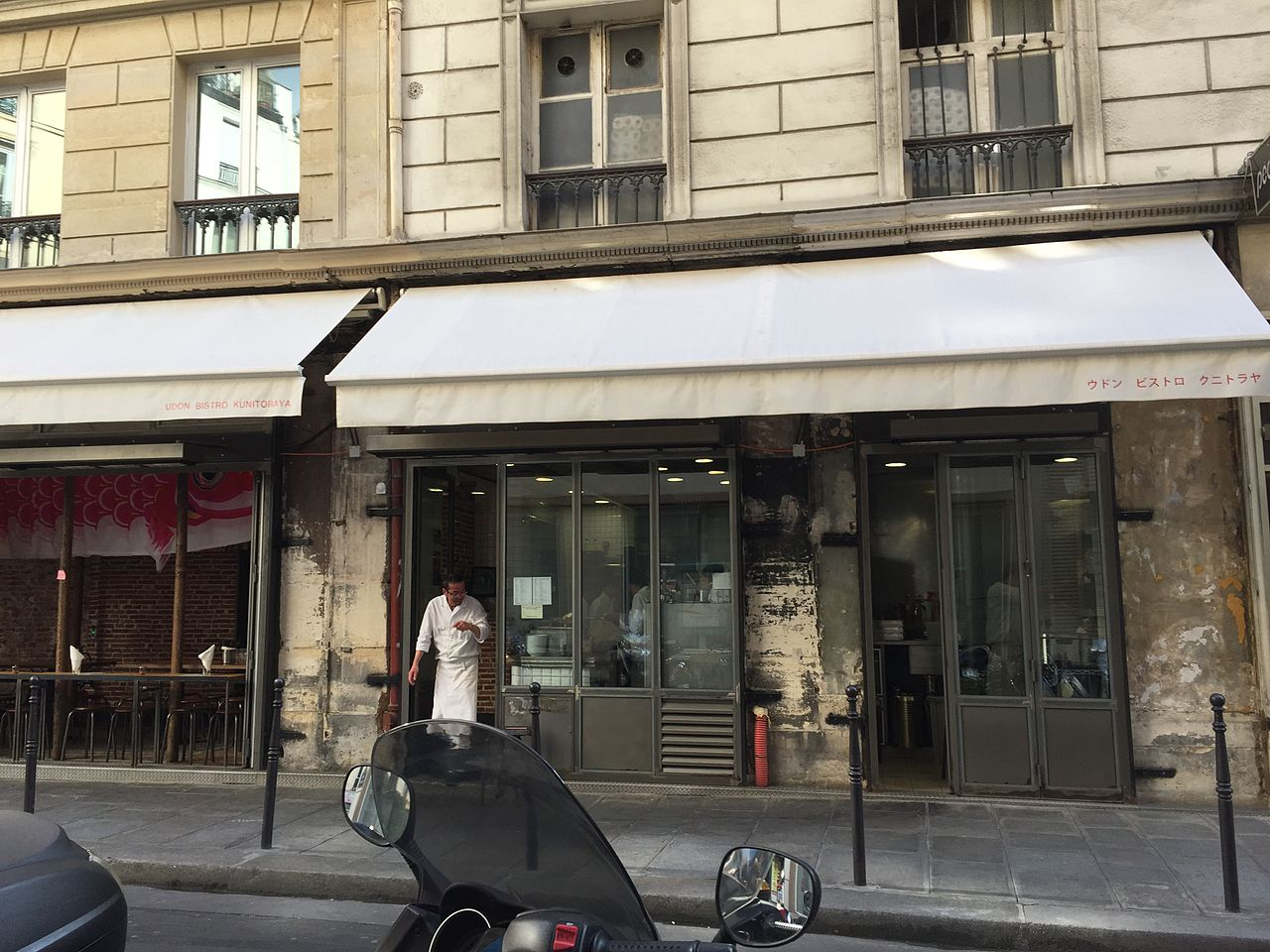 Restaurant Kunitoraya  Rue Villedo  Paris France