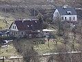 Kunratice (Liberec) - chalupy čp. 5 a 6 v Lučanské ulici, pohled z ul. Mšenská od čp. 50.jpg