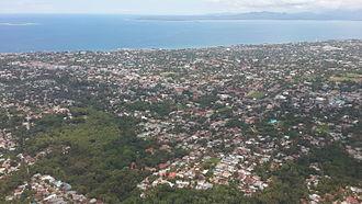 Kupang - View of Kupang from the air