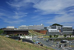 Kyushu University Ito Campus Center Zone and East Zone 20180808.jpg