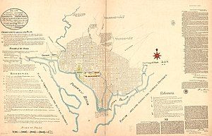 plan of the city of washingtonedit further information streets and highways of washington dc