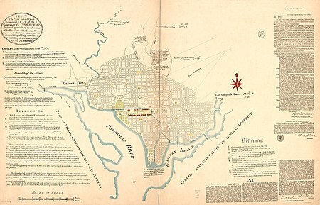 L%27enfant plan of Washington, D.C.