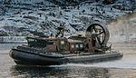 LCAC Hovercraft taking part in a beach assault MOD 45159545.jpg