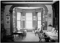 LIBRARY, BAY WINDOW - Reverend Timothy Walker House, 276 North Main Street, Concord, Merrimack County, NH HABS NH,7-CON,7-6.tif