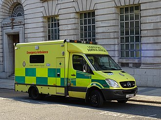 Emergency medical services in the United Kingdom - One of London Ambulance Service's frontline vehicles