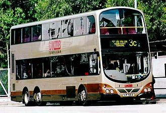 Wright Eclipse Gemini - Kowloon Motor Bus Wright Explorer bodied Volvo Super Olympian