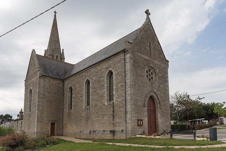Église Saint-Laurent de La Grée-Saint-Laurent.