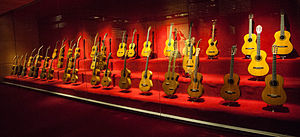 Guitar - Guitar collection in Museu de la Música de Barcelona