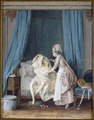 Lady Getting out of Bed (Niclas Lafrensen d.y.) - Nationalmuseum - 25374.tif