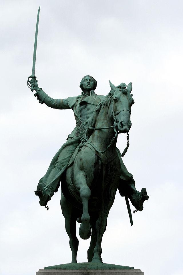 Statue équestre de La Fayette