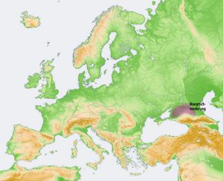 Kuma–Manych Depression Geological depression in southwestern Russia
