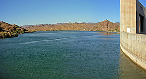 Lake Havasu - Lake from Parker Dam