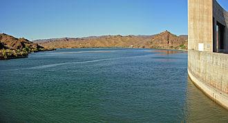 Lake Havasu - Lake from Parker Dam