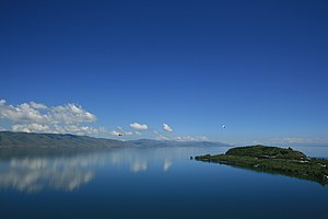 Lake Sevan with Sevanavank.jpg