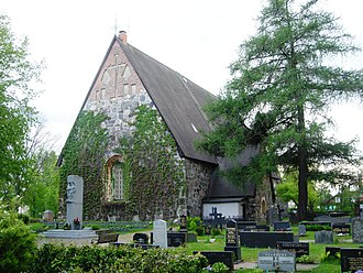 Lammi - Lammi Church was built between 1490 and 1510 and was dedicated to St. Catherine of Alexandria.