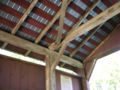 Landis Mill Covered Bridge Inside Roof 3264px.jpg