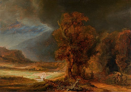 Landscape with the Good Samaritan - Rembrandt.jpg