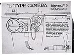 Lantern slide used for aerial photography training (16332608148).jpg