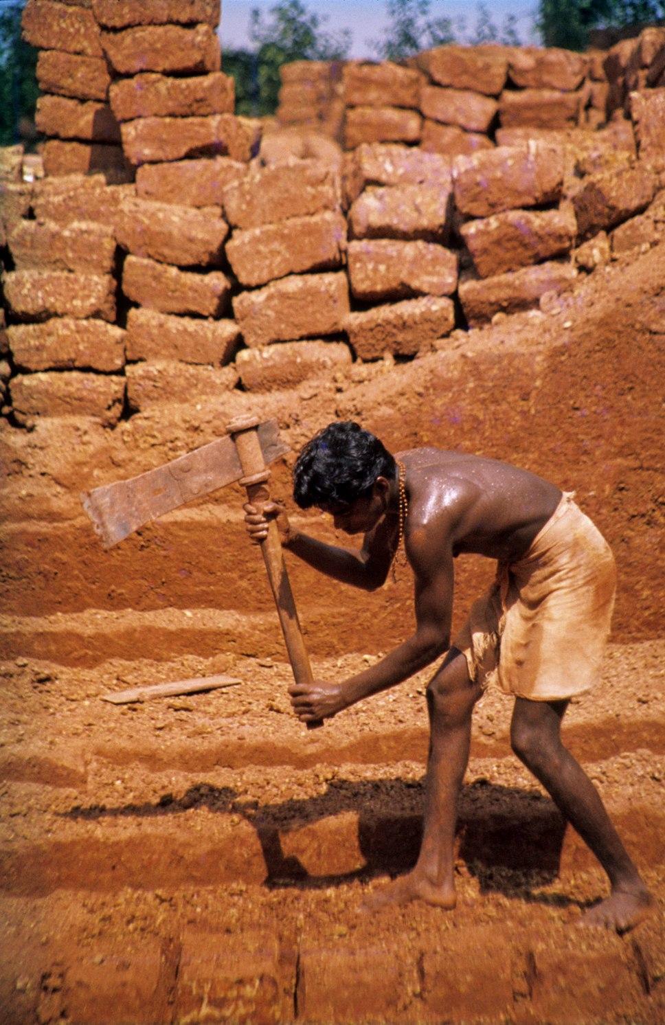 Laterite quarry, Angadipuram, India. C 004